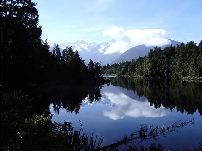Lake Matheson, near Fox Glacier