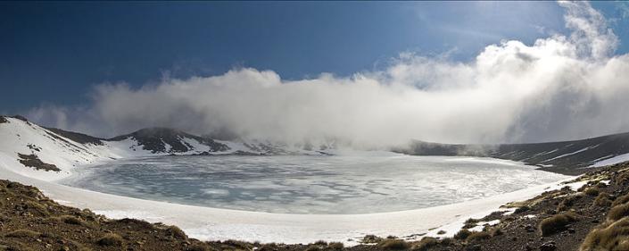Blue Lake, Tongariro National Park